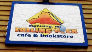 Falling Rock Bookstore, Munising, MI
