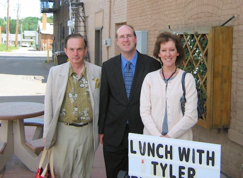 L.E. Ward, Tyler R. Tichelaar, and Sandra Thoney