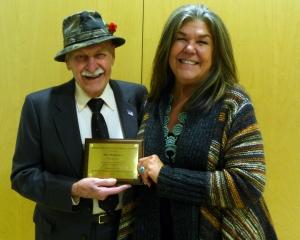 Ben Mukkala with Carol Brady