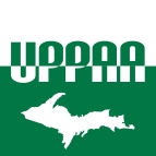 UPPAA logo, square, flush with bottom
