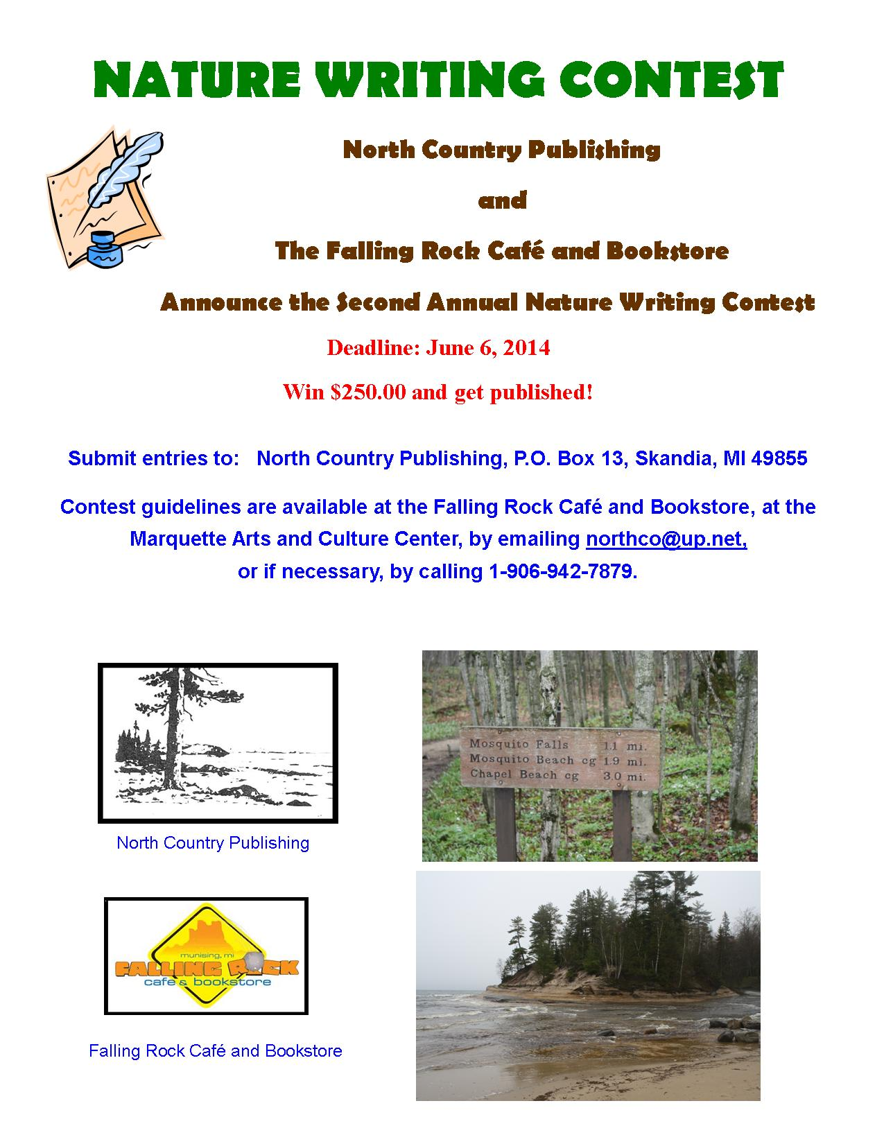 Nature writing awards and contests